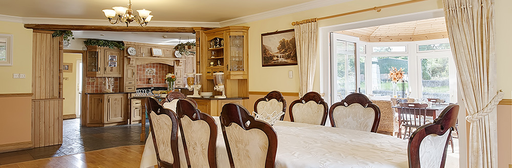 Oughterard Guesthouse Dining Room