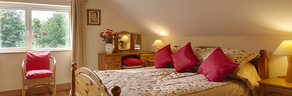 Woodlands bed and breakfast double bed